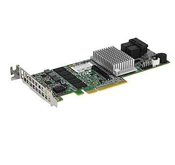 Supermicro AOC-S3108L-H8IR RAID-kontroller PCI Express 12 Gbit/s