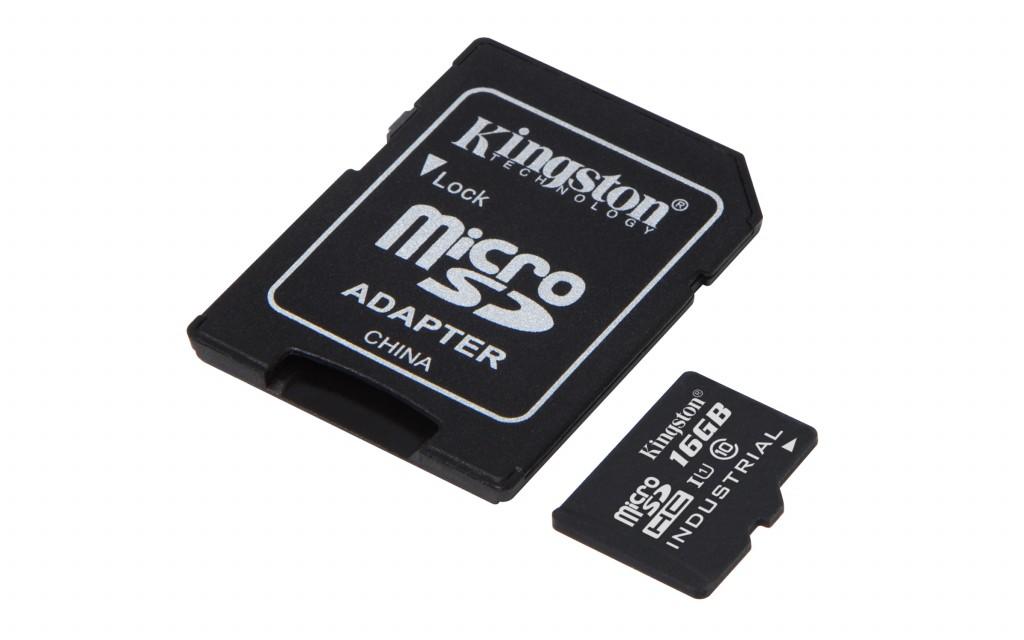 KINGSTON 16GB microSDHC UHS-I Class 10