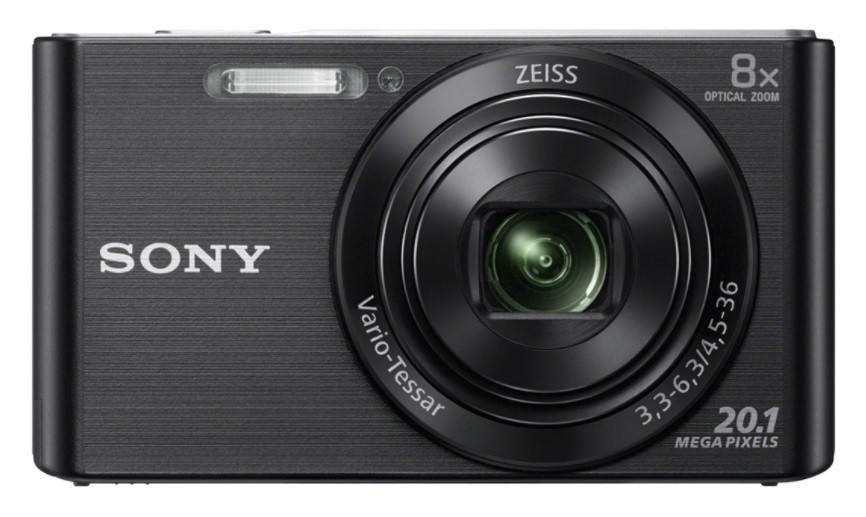 Sony Cyber-shot DSC-W830 Compact camera, 20.1 MP, Optical zoom 8 x, Digital zoom 32 x, ISO 3200, Display diagonal 6.86 cm, Video recording, Lithium, Black