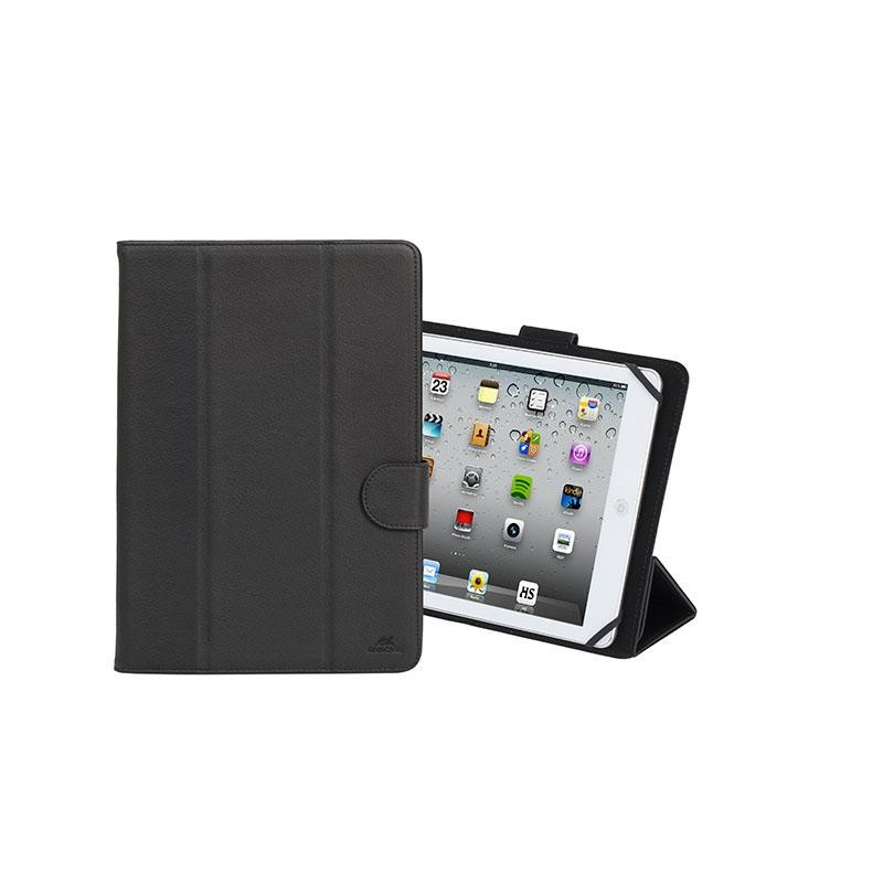 "TABLET SLEEVE 10.1"" MALPENSA/3137 BLACK RIVACASE"