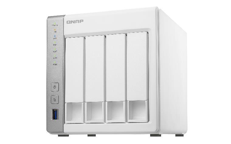 QNAP TS-431P võrkupääsu- ja varundusserver AL212 Ethernet LAN Torn Valge NAS