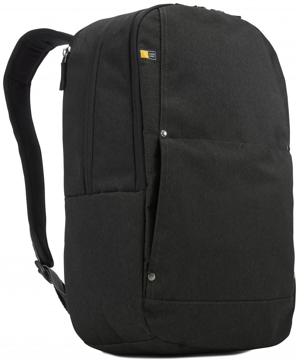 """Case Logic Huxton HUXDP115K Fits up to size 15.6 """", Black, Shoulder strap, Backpack"""