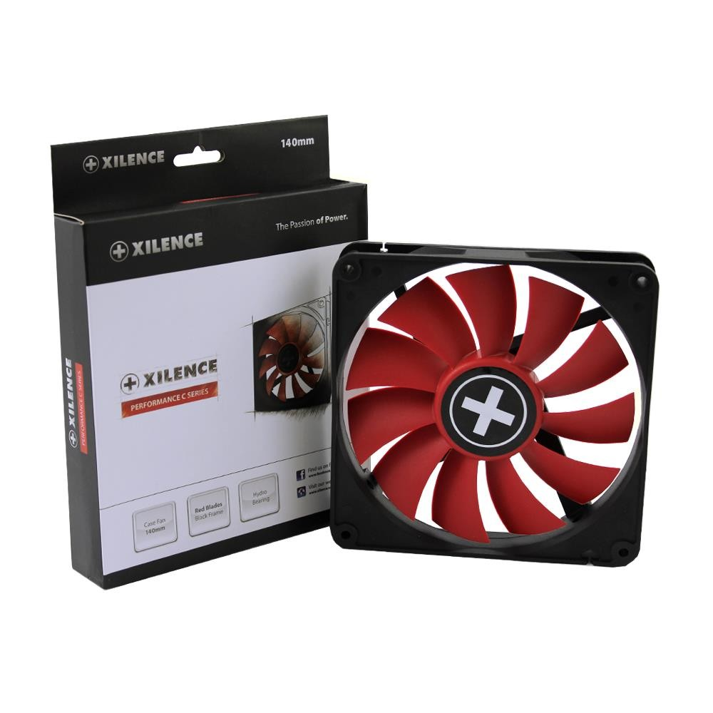 CASE FAN 140MM BIG4PIN/12V XF050 XILENCE