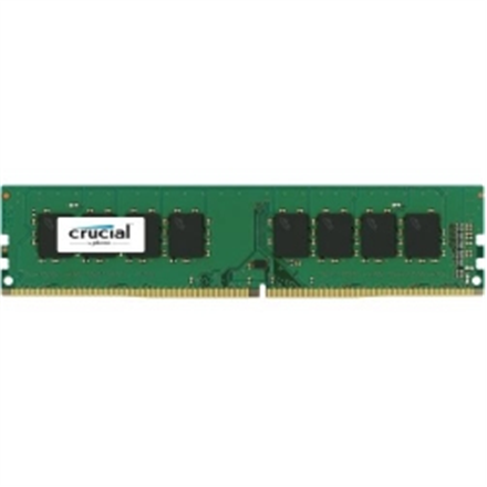 Crucial 4 GB, DDR4, 2400 MHz, PC/server, Registered No, ECC No