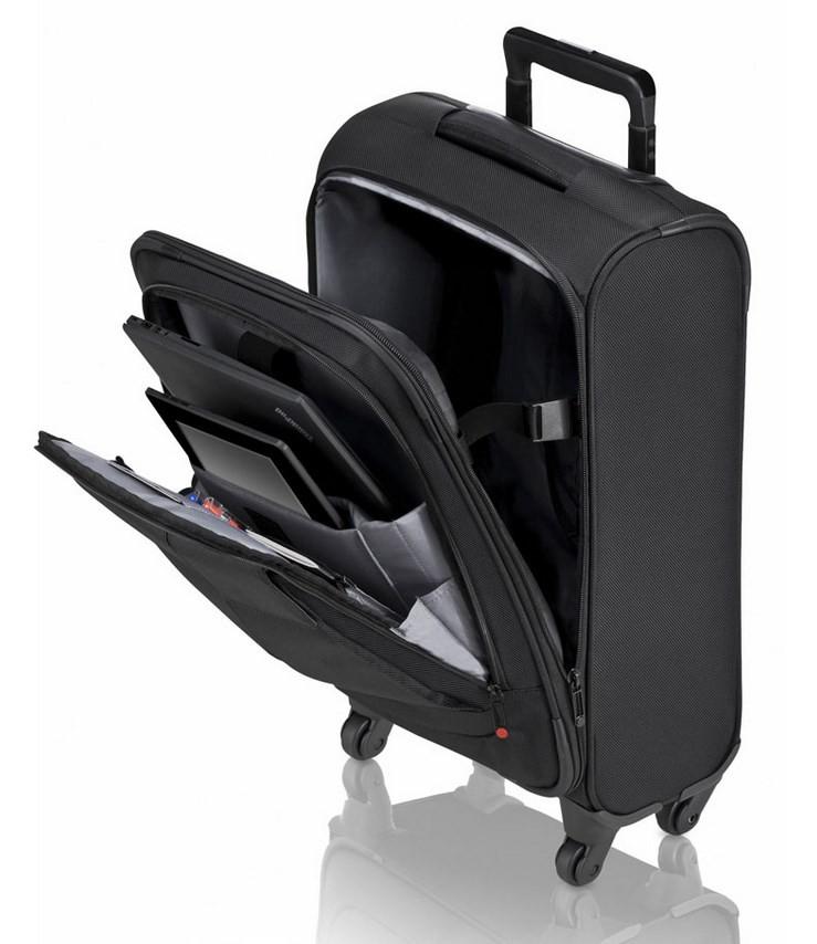"""Lenovo ThinkPad Professional Roller sülearvutikott 39,6 cm (15.6"""") Ratastega kott Must"""