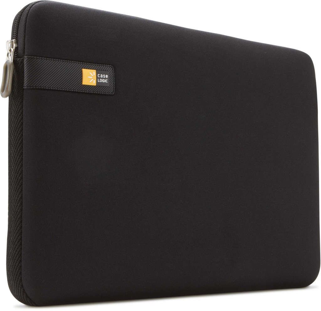 "Case Logic LAPS114K Fits up to size 14.1 "", Black, Sleeve"