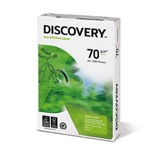 Koopiapaber Discovery A4 70g/m2, 500 lehte  3Re