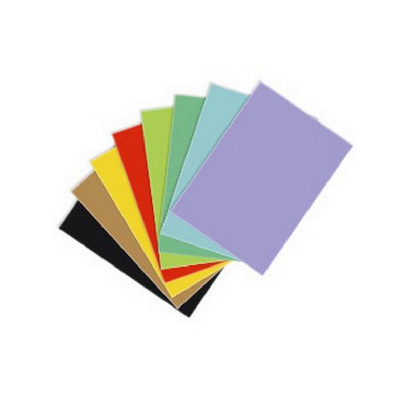 Värvipaber Kaskad A1, 64x90 cm, 225g/m2, 1 leht, helekollane (nr.55)