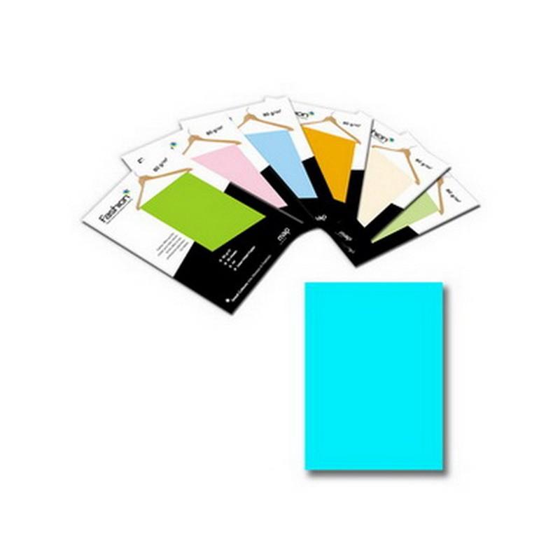 Värvipaber IMAGE Coloraction A4, 80g/m2, 50 lehte, vesisinine (nr.77)