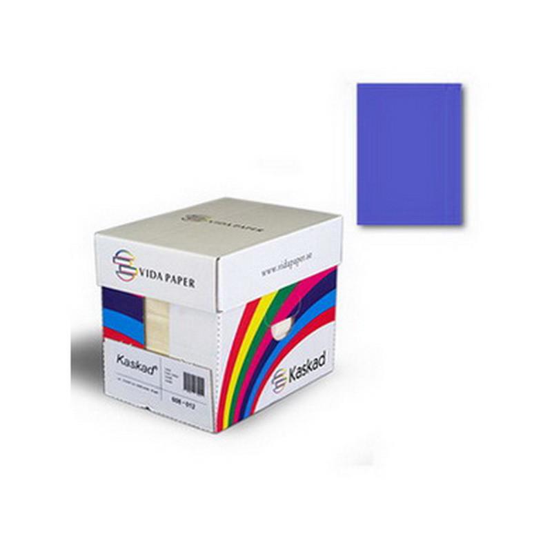Värvipaber Kaskad A1, 64x90cm, 225g/m2, 1 leht, tumesinine (Nr. 79)