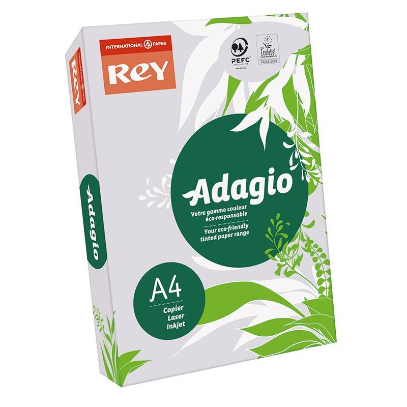 Värvipaber REY ADAGIO A4, 80g/m2, 500 lehte, lavendel (nr.61)
