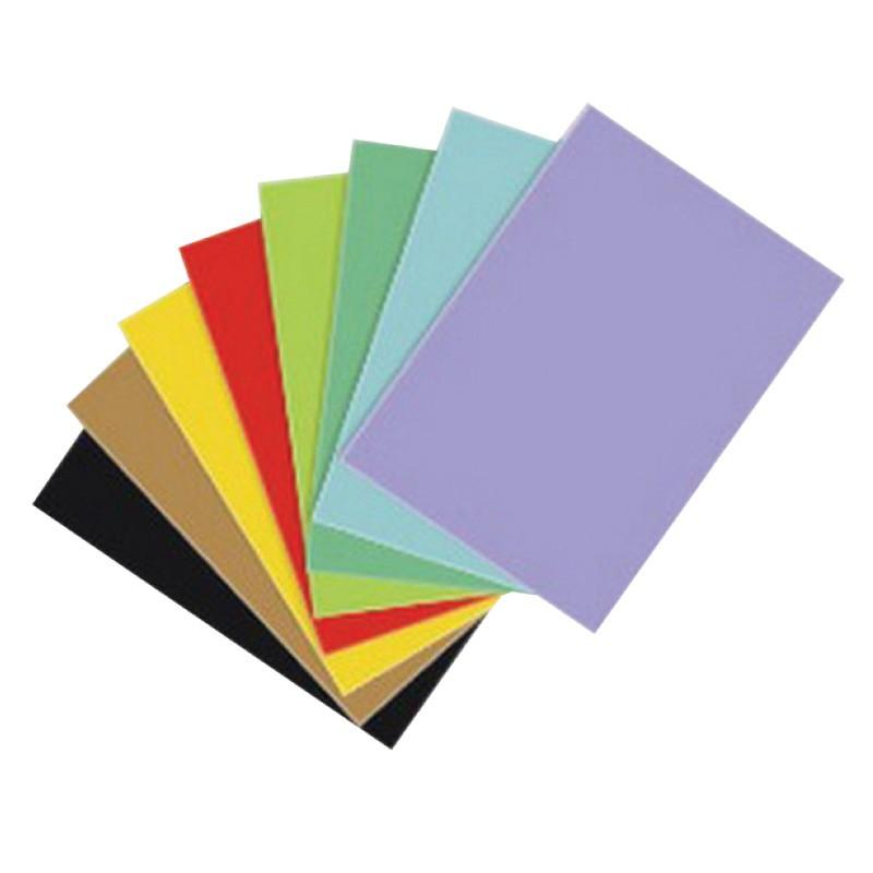 Värvipaber Kaskad A1, 64x90 cm, 225g/m2, 1 leht, oranž (nr.48)