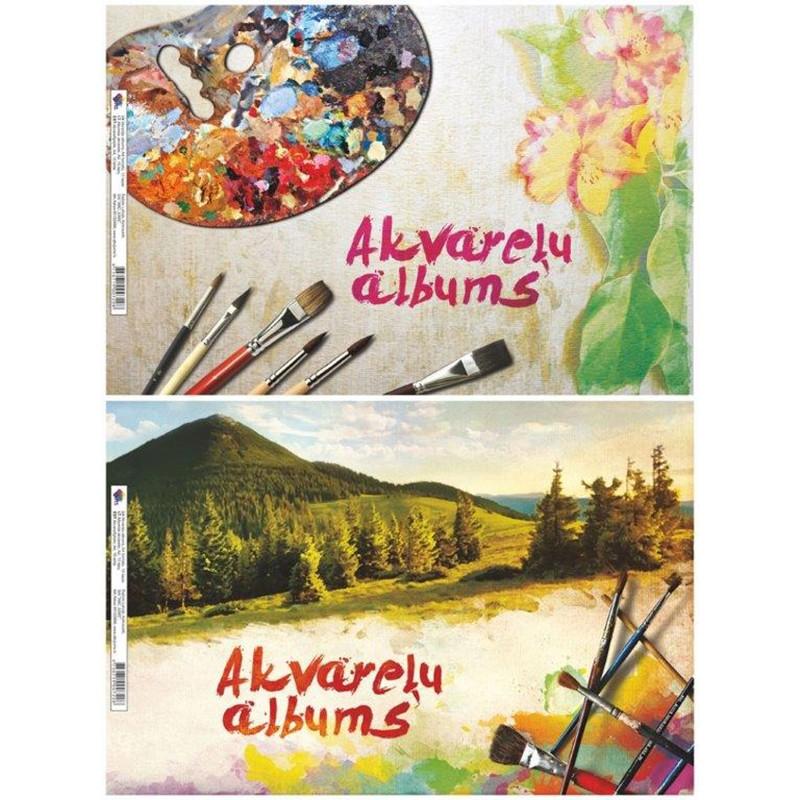 Joonistusplokk akvarell ABC JUMS A4, 210g, 15 lehte