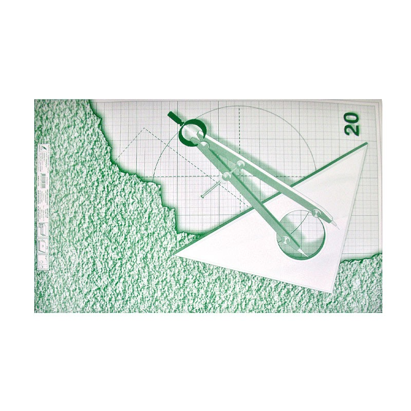 Millimeetripaber KRESKA A1, 64x90cm,1 leht pakendis (20 lehte)