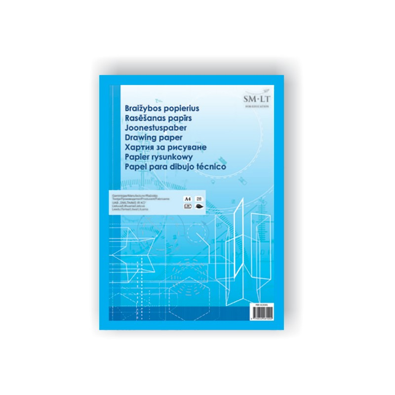 Joonestuspaber SMLT A4 160g 20 lehte