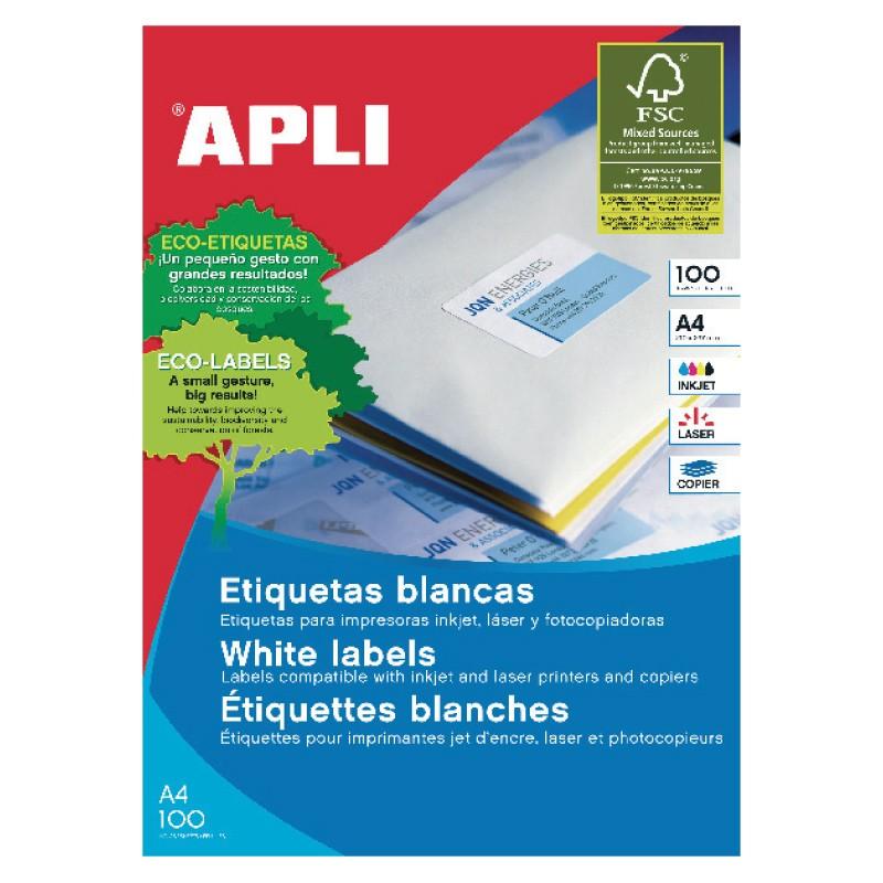 Etiketid Apli ILC  iseliimuvad 38 x 21,2mm 100l/pk (3127)