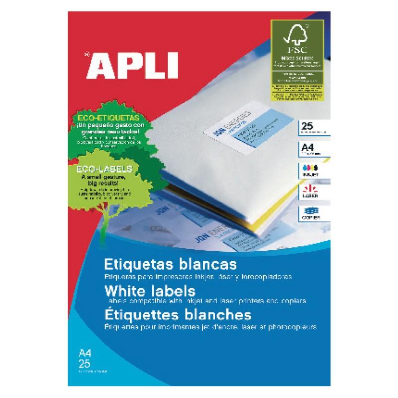 Etiketid Apli ILC iseliimuvad 70 x 37mm 25l/pk
