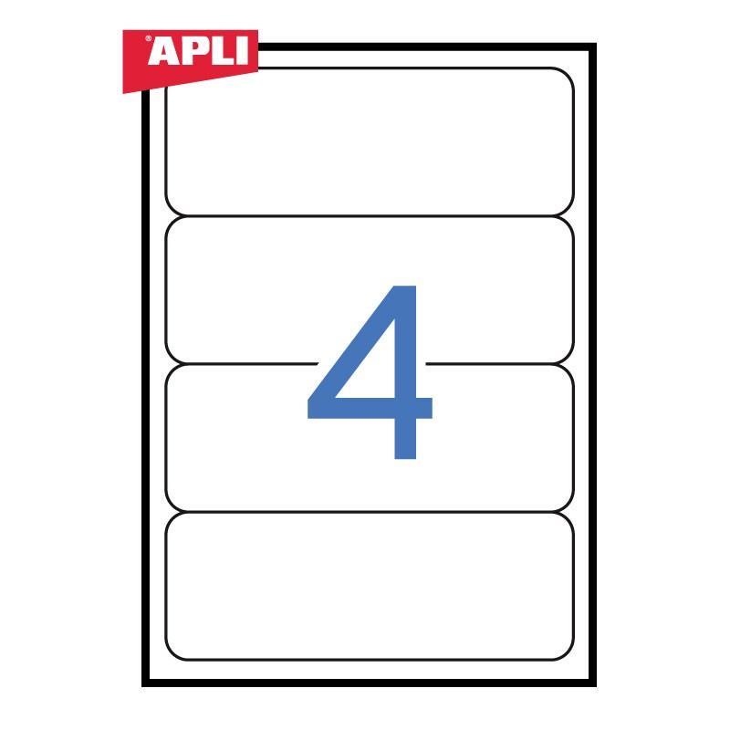 Etiketid Apli ILC registraatorile iseliimuvad 190 x 61mm, 25 tk