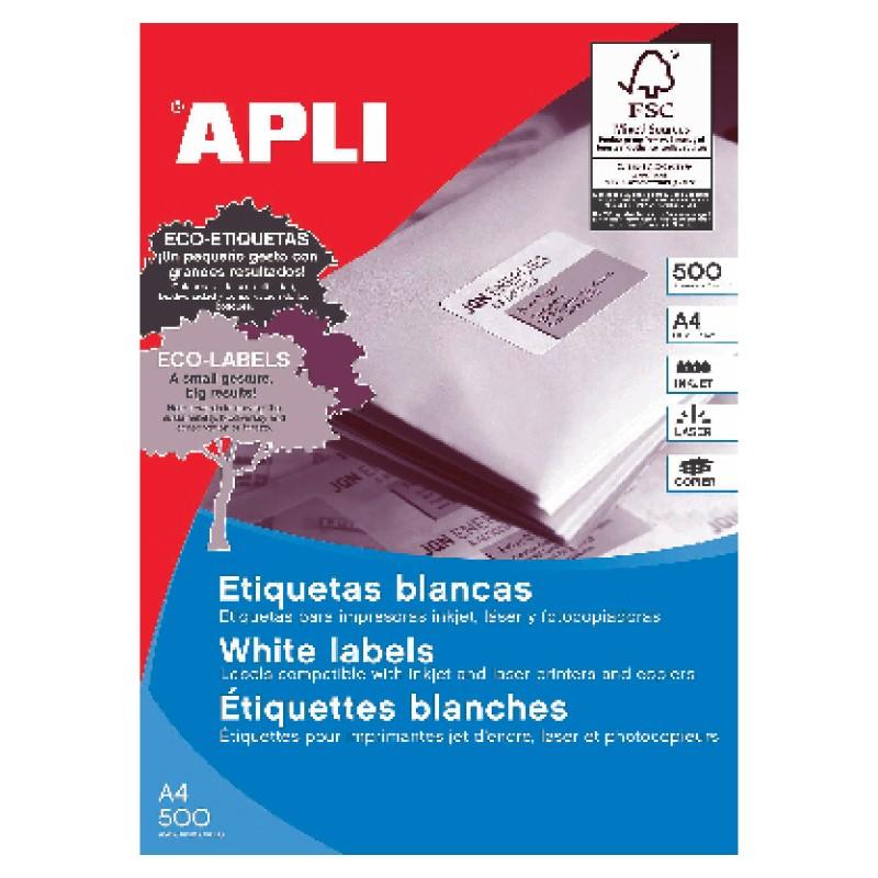 Etiketid Apli ILC iseliimuvad 210 x 148mm 500l/pk