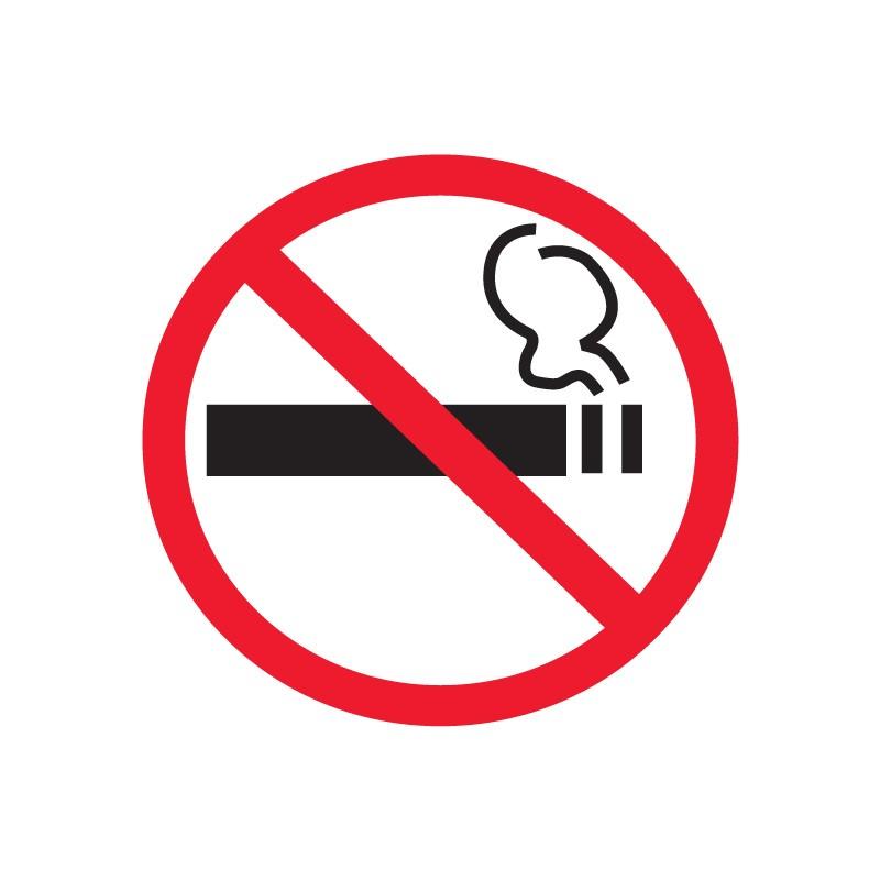 Etiketid Apli 114x114mm, suitsetamine keelatud