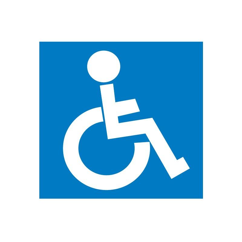 Etiketid Apli 114x114mm, lubatud invaliididele