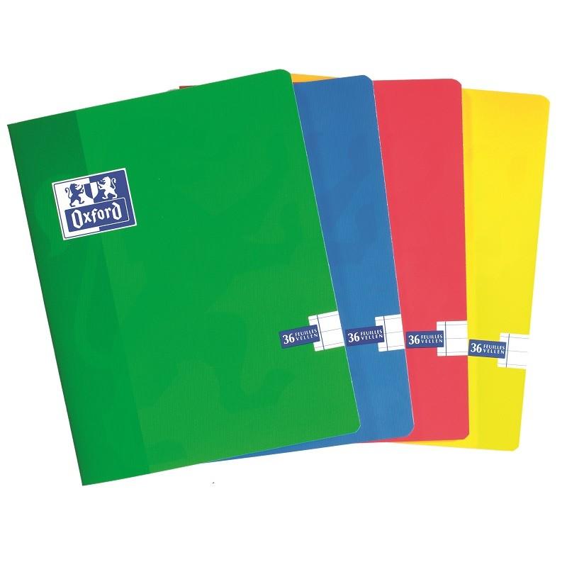 Kaustik klamberköites Oxford Exercisebook 165x210mm, 90g, 36 lehte, jooneline