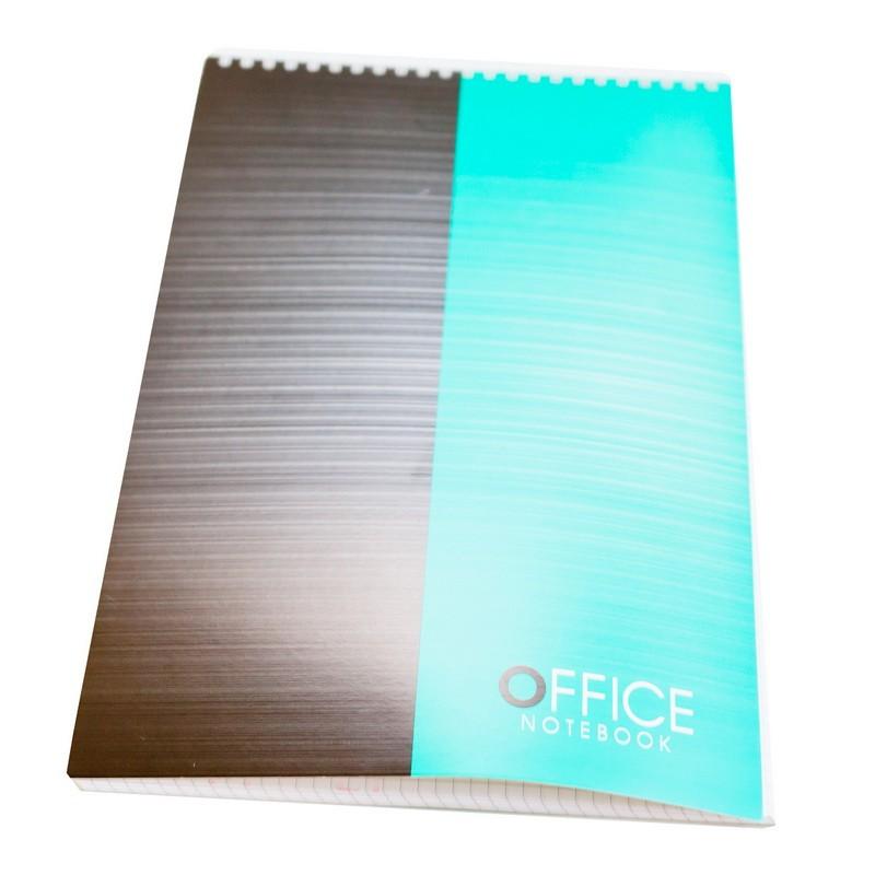Märkmeplokk spiraalköites ABC Jums Office A4/96l, ruut