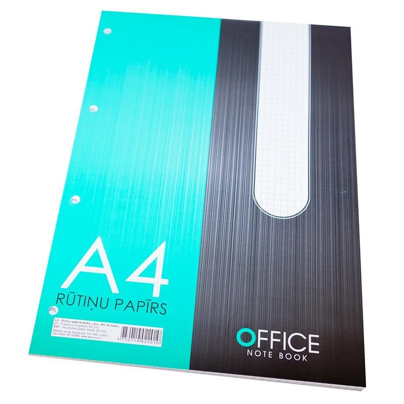 Märkmeplokk ABC Jums Office A4/50l, ruut