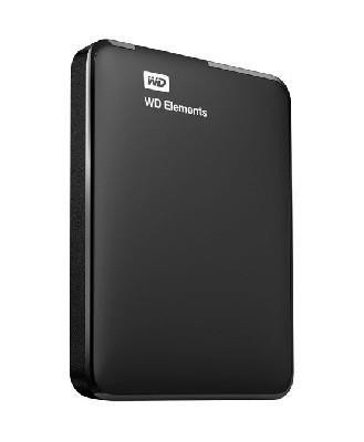 "Väline kõvaketas Western Digital Elements 1TB 2,5"" USB 3.0 Must 1 tk (WDBUZG0010BBK-WESN)"