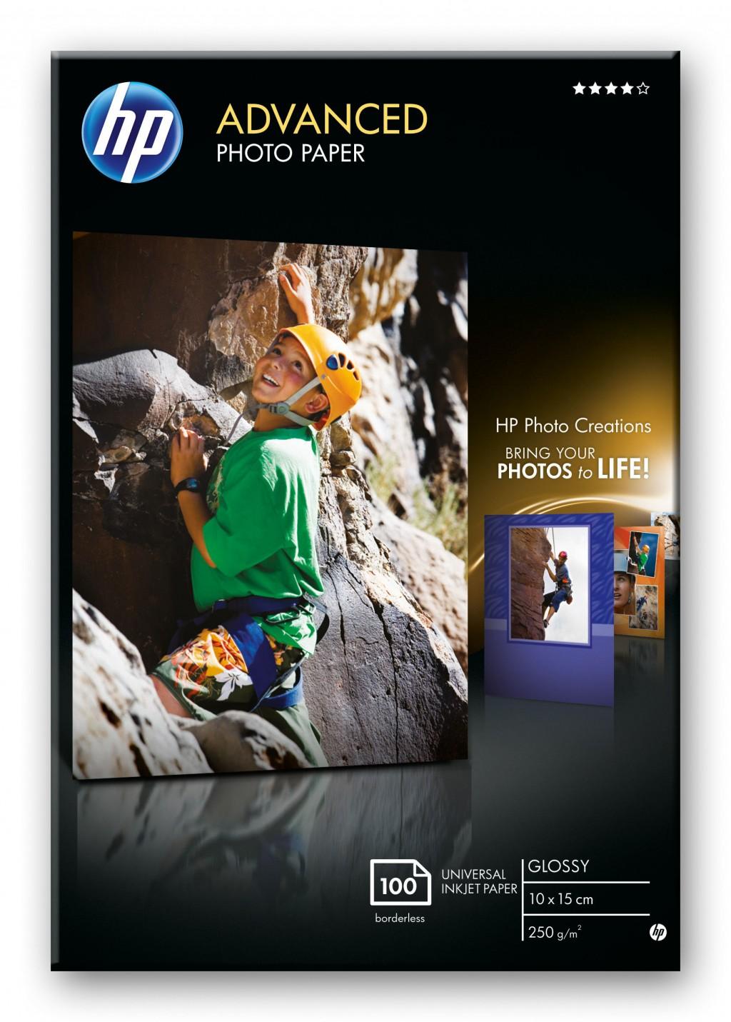 HP Advanced Photo paper glossy 100sheet