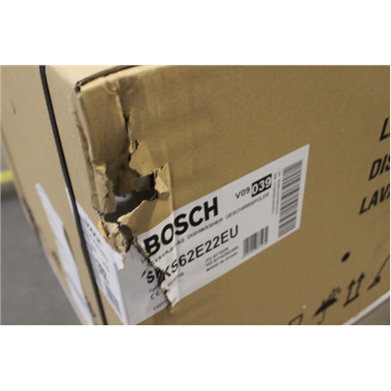 SALE OUT.  Bosch Dishwasher SKS62E22EU Table, Width 59.5 cm, Number of place settings 6, A+, White, WITHOUT ORIGINAL PACKAGING, DENTS ON TOP, SIDE AND BOTTOM, SCRATCHED