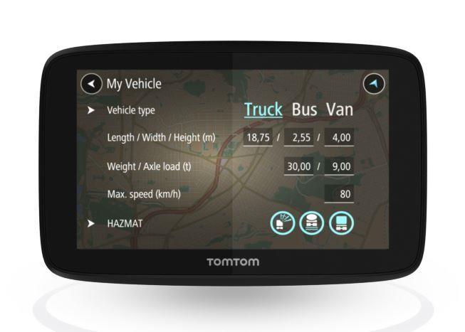 """TomTom GO Professional 520 navigaator 12,7 cm (5"""") Puutetundlik ekraan Fikseeritud Must, Hall"""