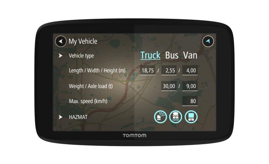 """TomTom GO Professional 620 navigaator 15,2 cm (6"""") Puutetundlik ekraan Fikseeritud Must 201 g"""
