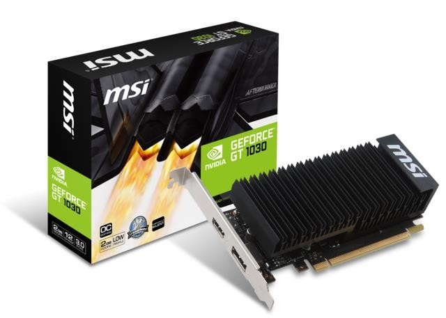 VGA PCIE16 GT1030 2GB GDDR5/GT 1030 2GH LP OC MSI