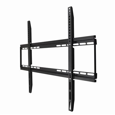 """Gembird Wall mount, WM-75F-01, 40-75 """", Fixed, Maximum weight (capacity) 50 kg, VESA max 600x400 mm, Black"""