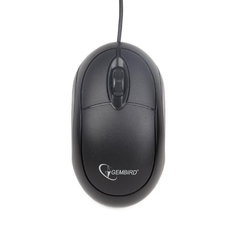 MOUSE USB OPTICAL/BLACK MUS-U-01 GEMBIRD