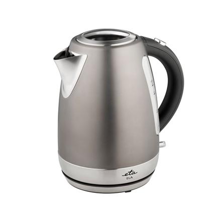 Kettle ETA Kettle ETA859890040 Standard kettle, Stainless steel, Stainless steel, 2200 W, 360° rotational base, 1.7 L
