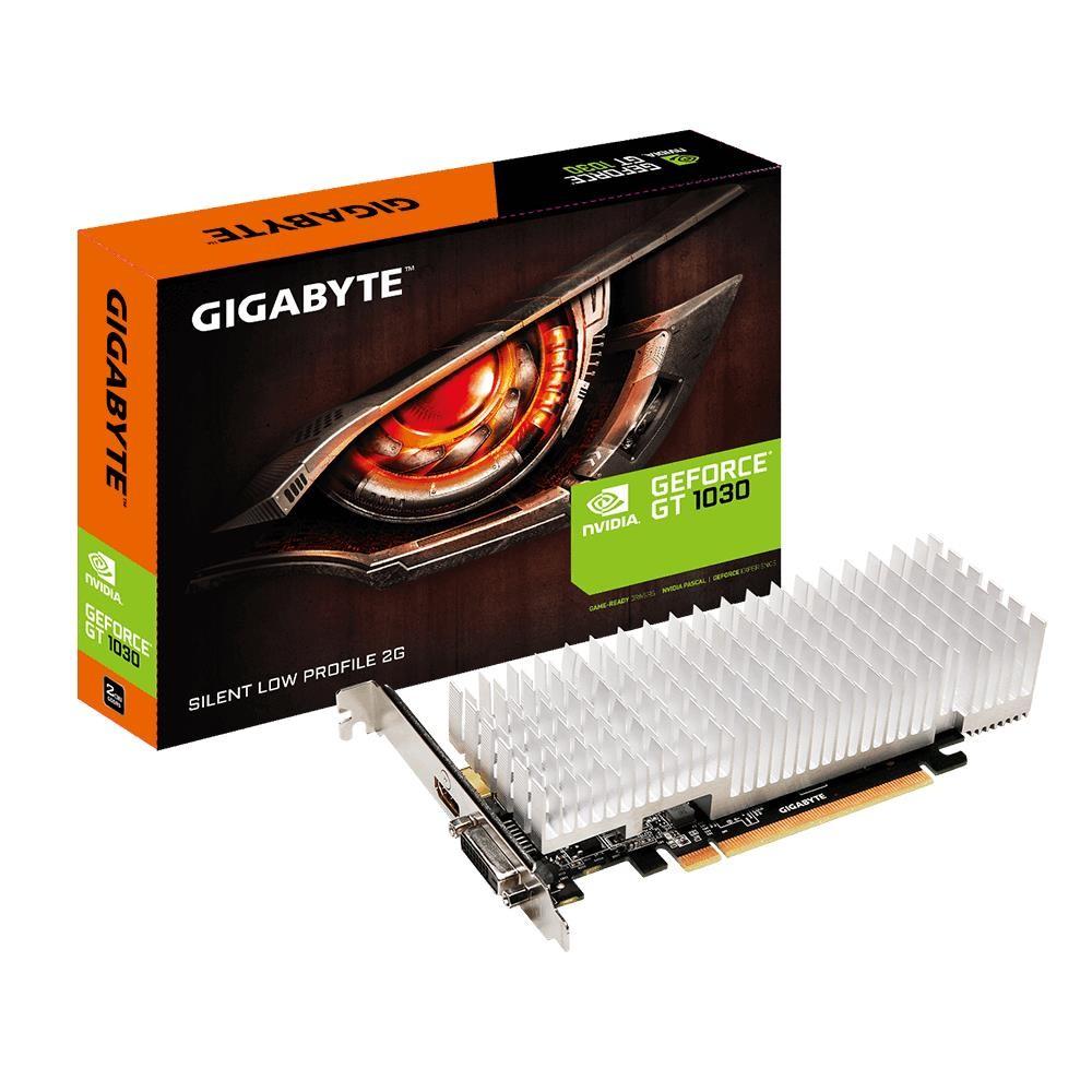 Gigabyte GV-N1030SL-2GL graafikakaart NVIDIA GeForce GT 1030 2 GB GDDR5