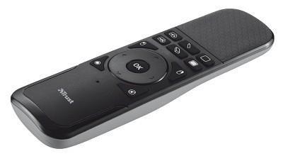 Trust Wireless Touchpad Presenter juhtmevaba esitluspult IR Must, Hall