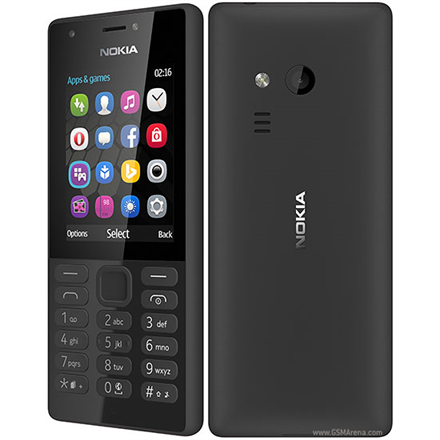 "Nokia 216 Black, 2.4 "", TFT, 240 x 320 pixels, 16 MB, Dual SIM, Mini-SIM, Bluetooth, 3.0, USB version microUSB 1.1, Built-in camera, Main camera 0.3 MP, Secondary camera 0.3 MP, 1020 mAh"