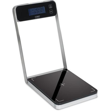 Caso Kitchen scale B5 03290 Maximum weight (capacity) 5 kg, Graduation 0.5 g, Black