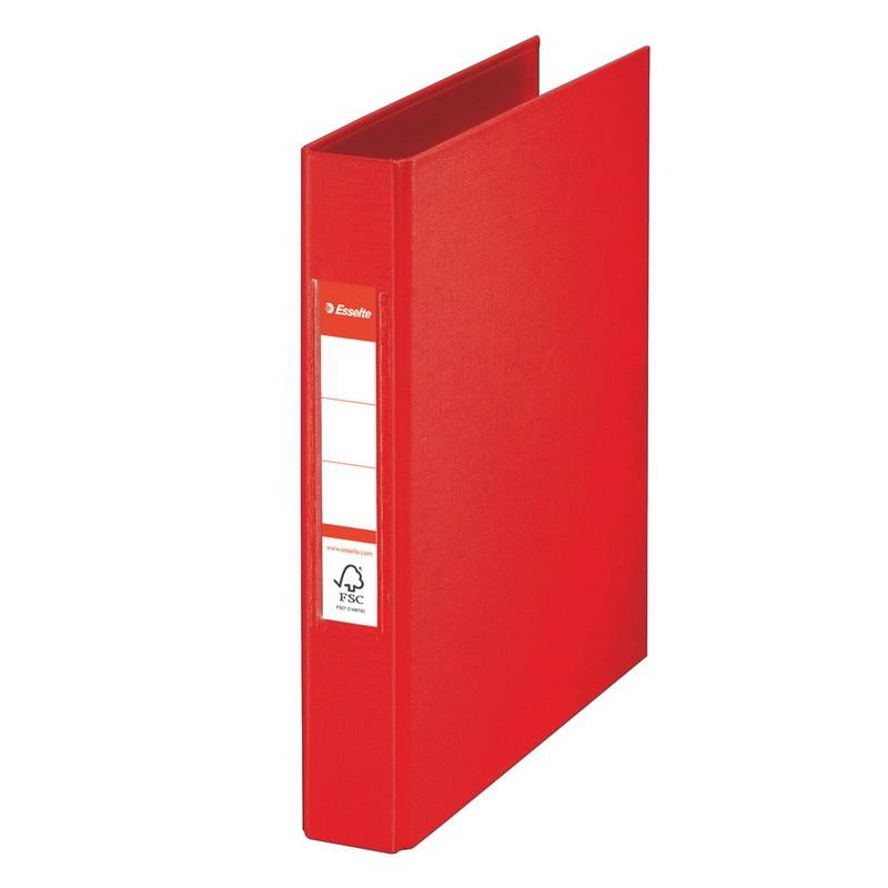 Rõngaskaaned Esselte A5 MR250 punane