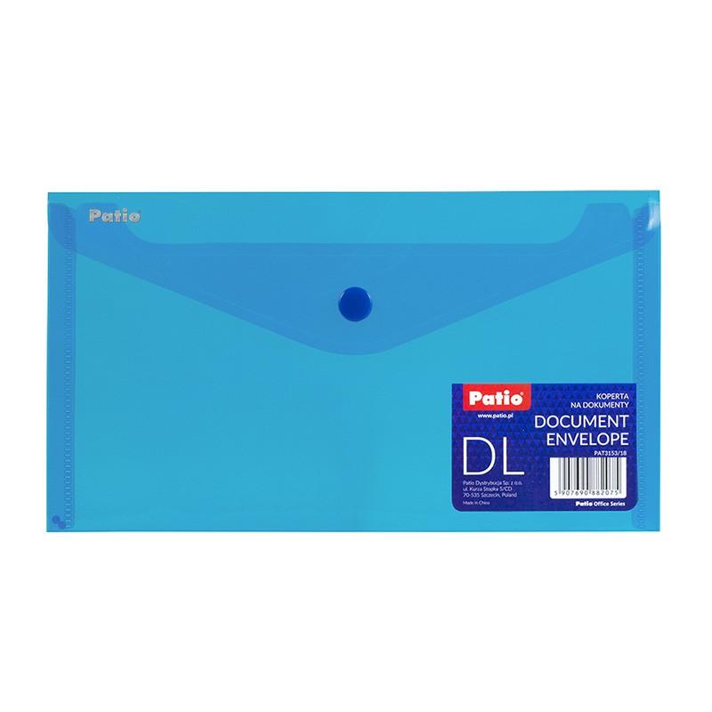 Kileümbrik trukiga Patio PP, 125x225mm, sinine