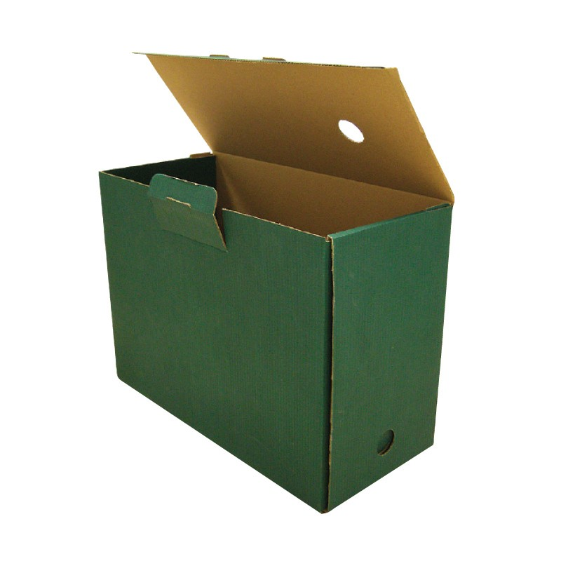 Arhiivikarp SMLT D-Arch A4, selg 150 mm, roheline