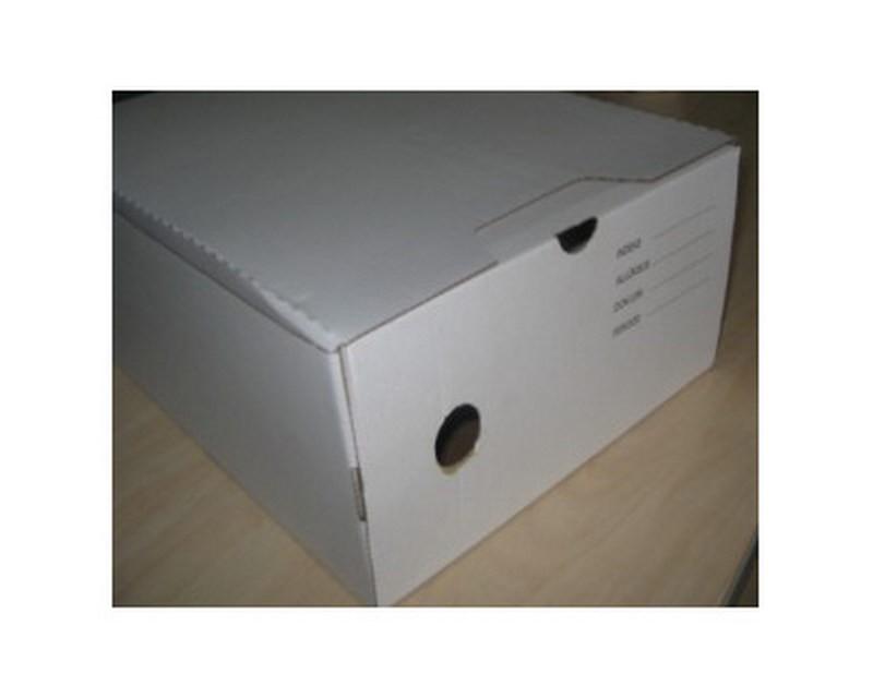 Arhiivikarp SCA 125x340x245mm, kleepsuga