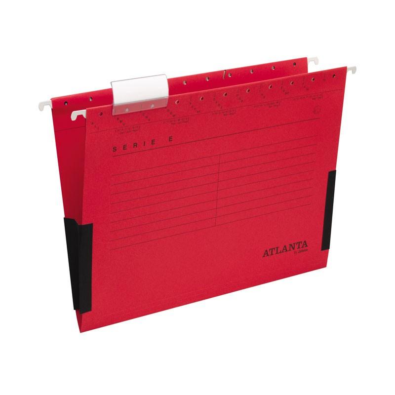 Rippkaaned E-SERIE Jalema A4 turvaribaga, punane 3Re