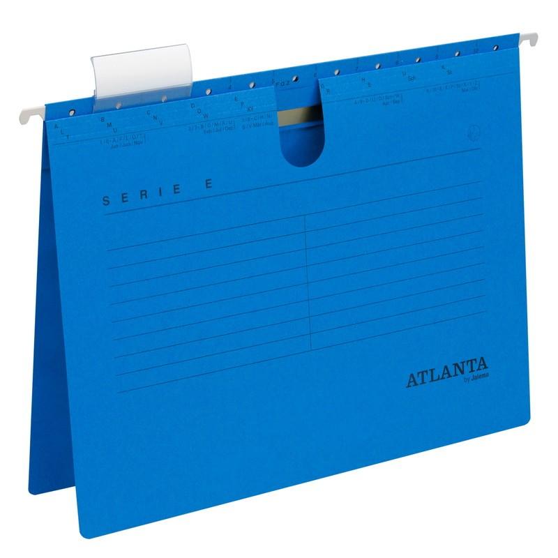 Rippkaaned E-SERIE Jalema A4, köiteklambriga, sinine 3Re