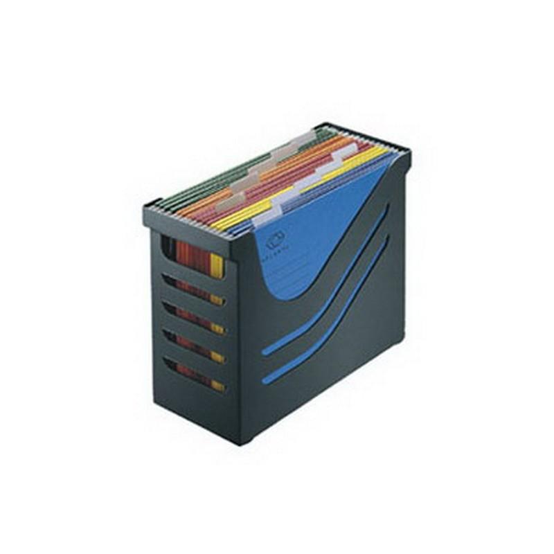 Rippkaante kast Jalema, A4, 5 rippkaant, must