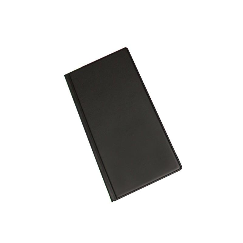 Visiitkaardihoidja Pantaplast, 96 kaarti, must