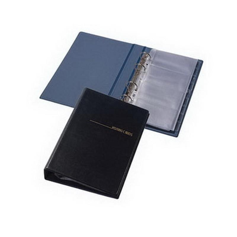 Visiitkaardihoidja Pantaplast, 200 kaarti, must